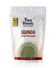 True Elements Quinoa Semi Processed 500gm